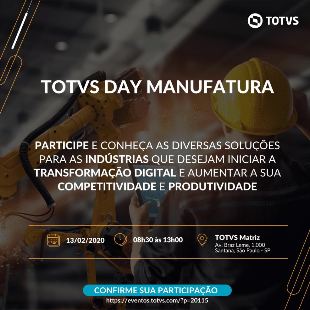 TOTVS DAY MANUFATURA