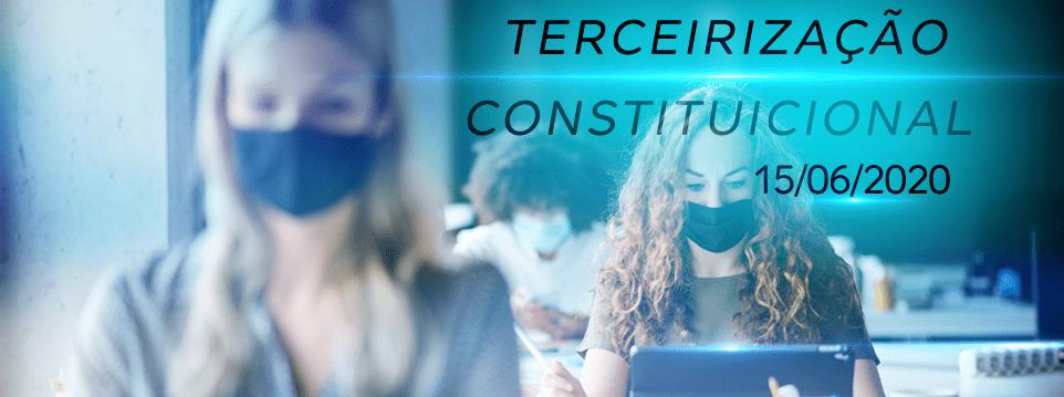 lei da terceirização constitucional