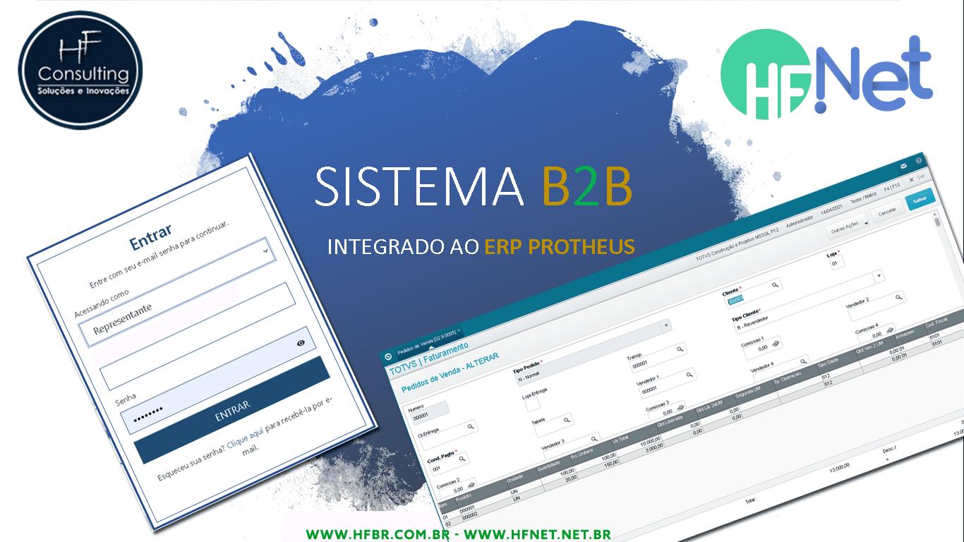Sistema e-commerce B2B